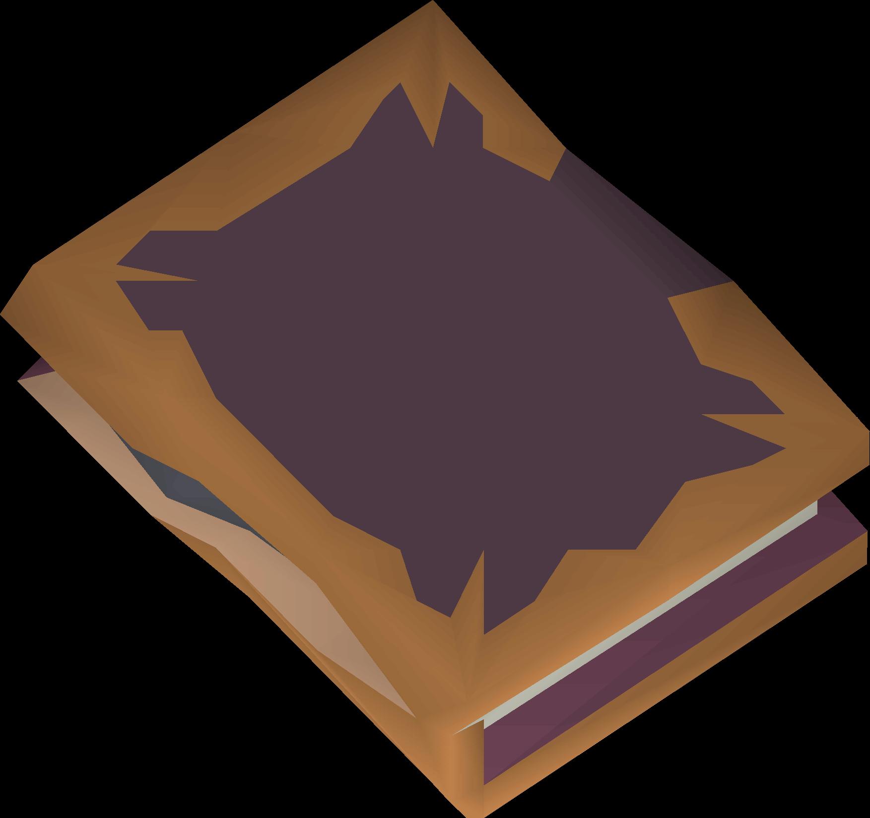 Slashed book