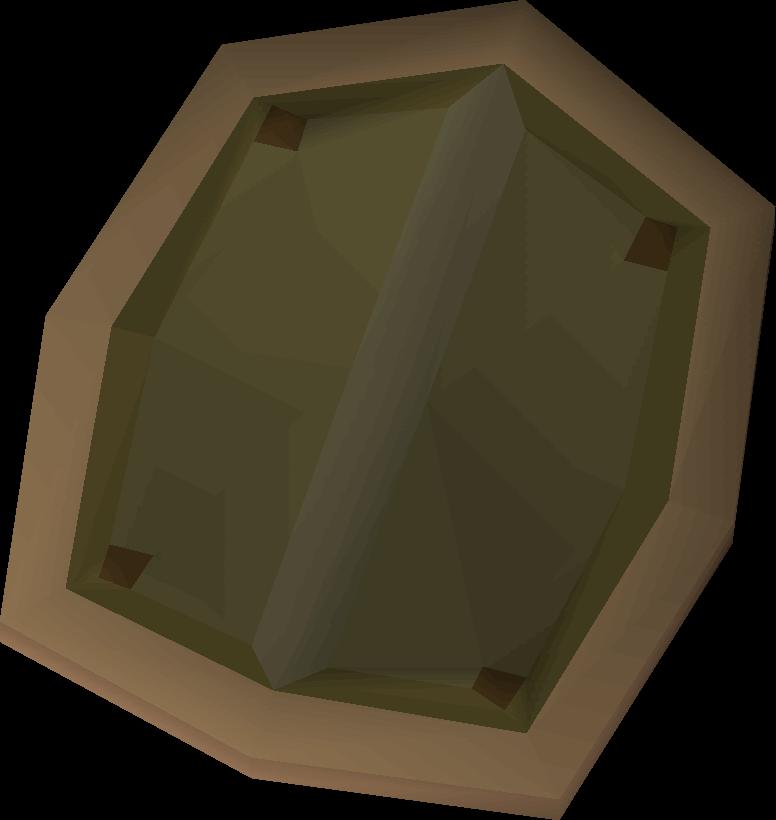 Hard leather shield