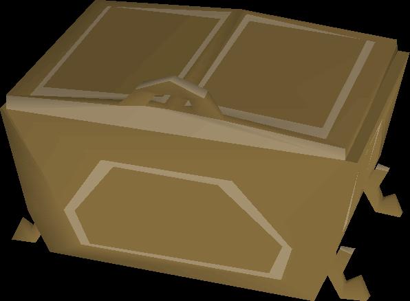Teak fancy dress box