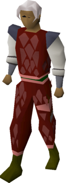 Red d'hide (t) set equipped.png