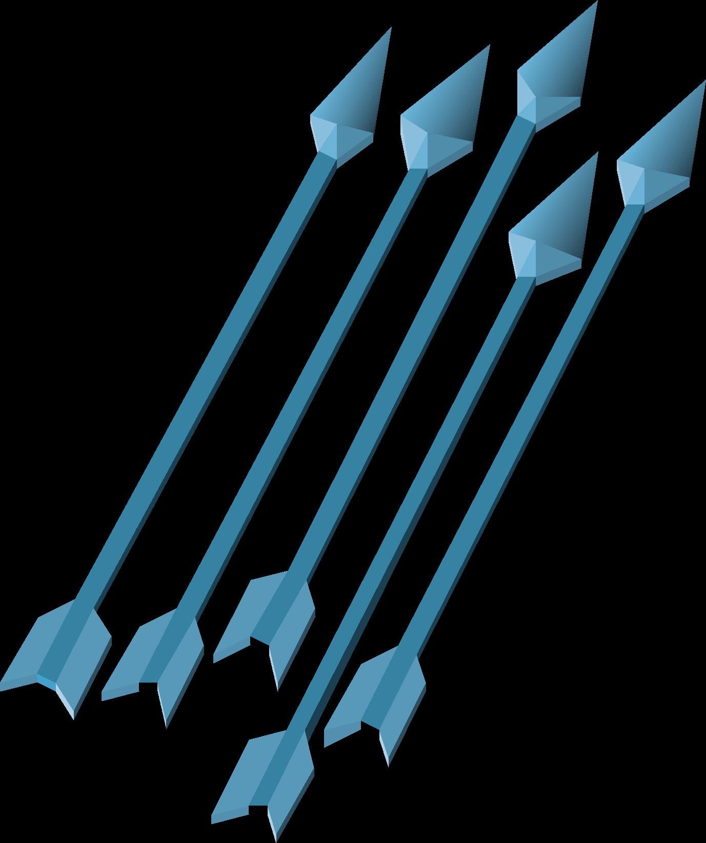 Ice arrows