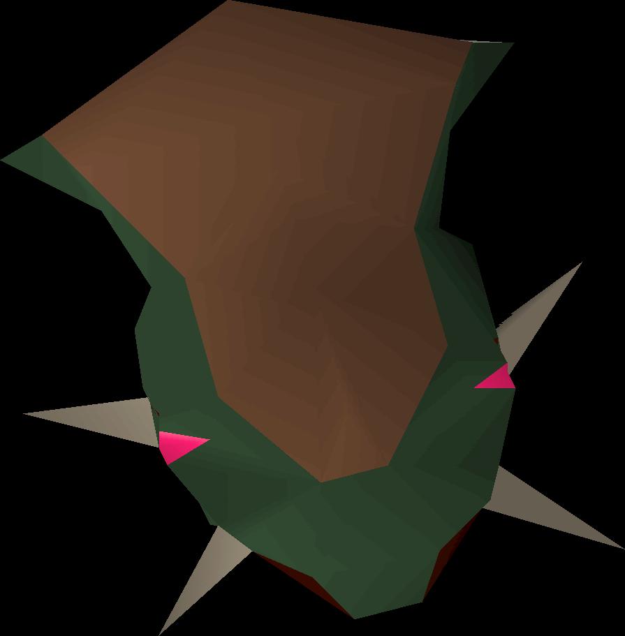 Basilisk head
