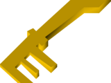 Battered key