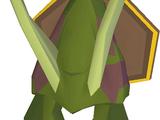 Kalphite Queen head (mounted)