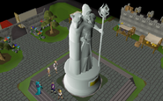 Completed Great Kourend statue