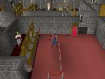 Emote clue - push up warrior guild bank.png