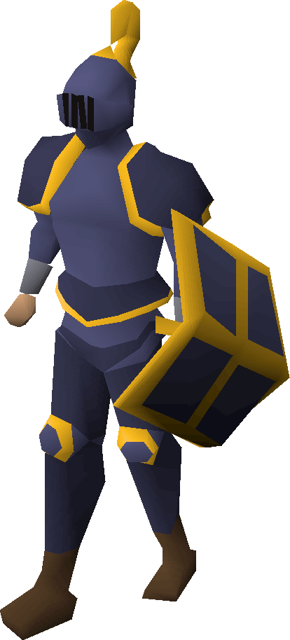 Mithril gold-trimmed armour