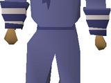 Blue tricorn hat