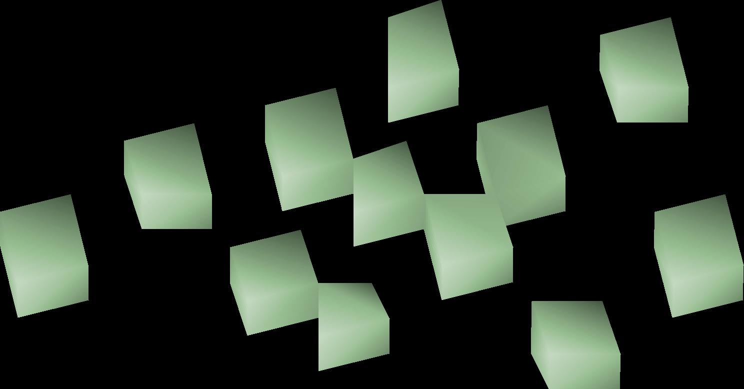 Lime chunks
