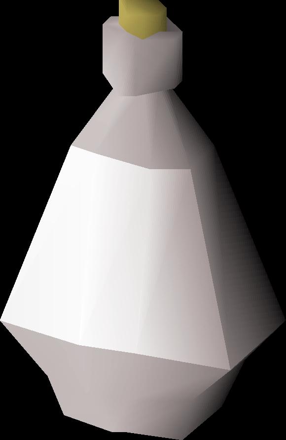 Silver bottle