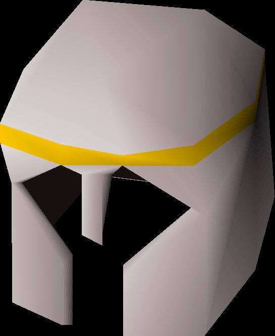 White med helm