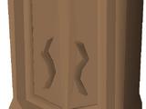 Mahogany armour case
