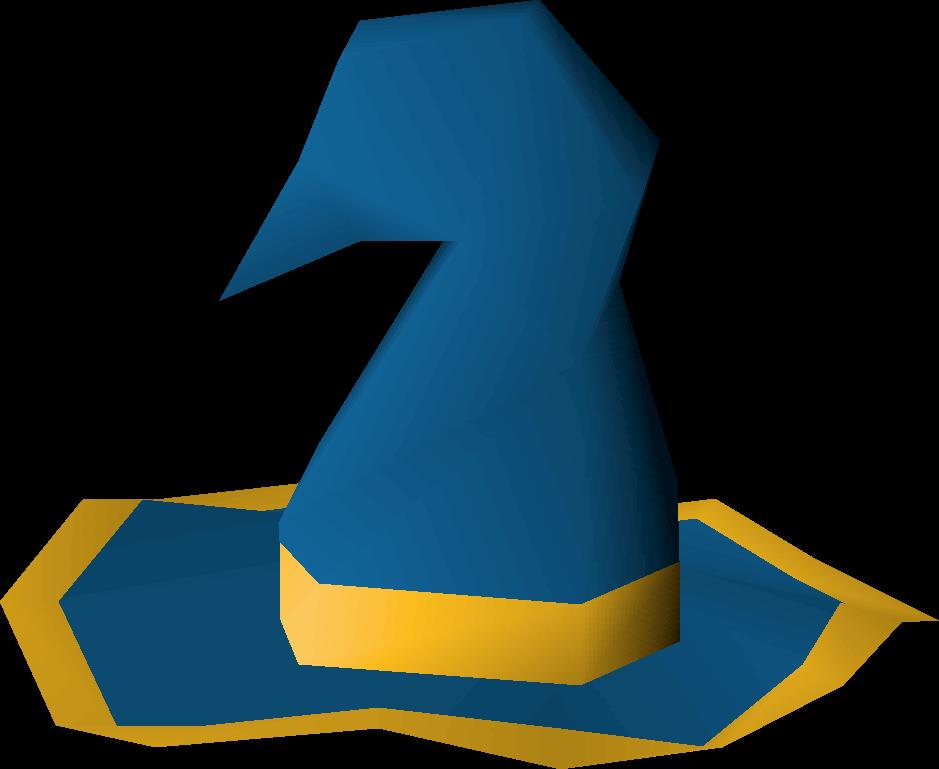 Blue wizard hat (g)