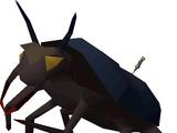 Giant scarab