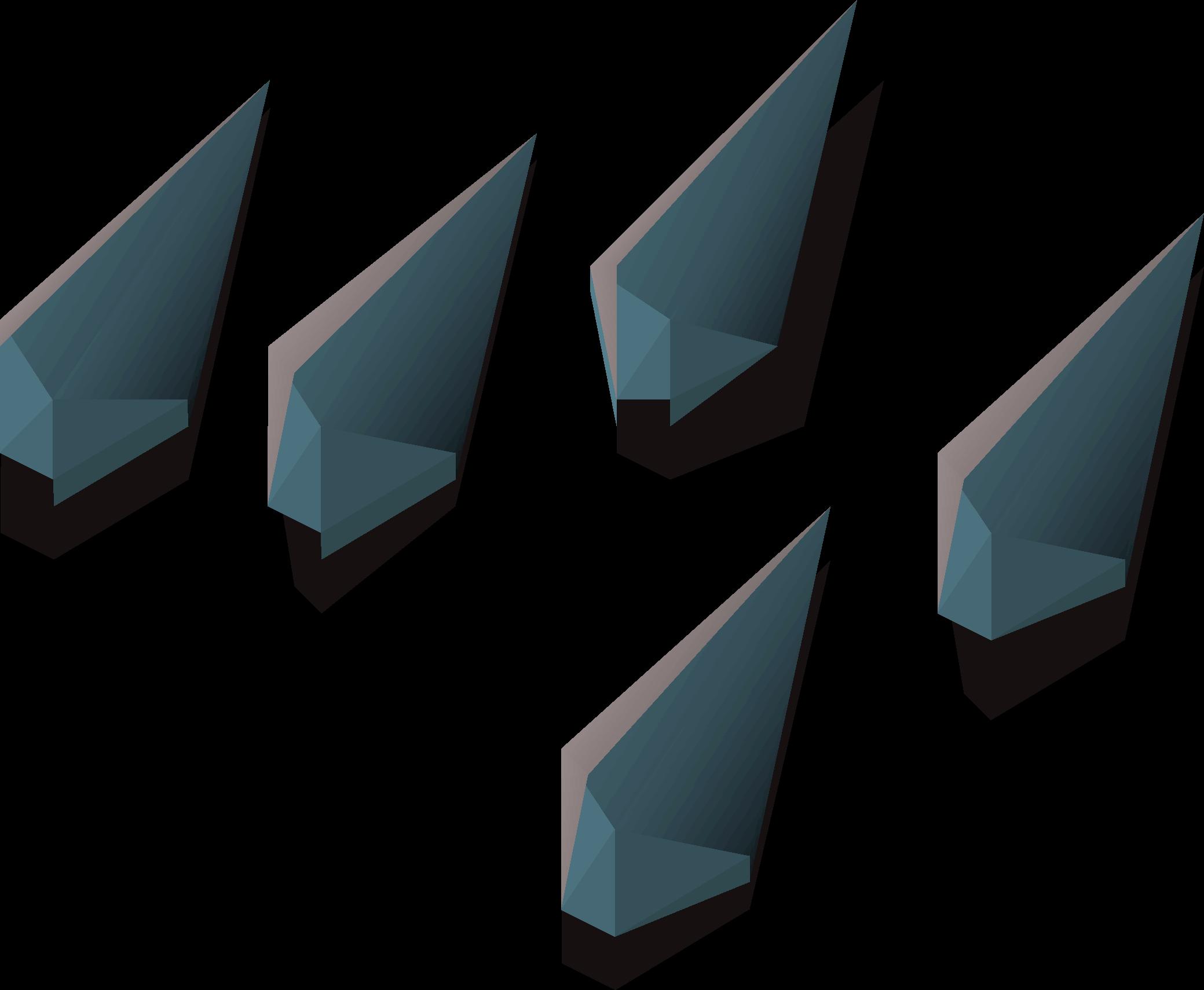 Rune arrowtips