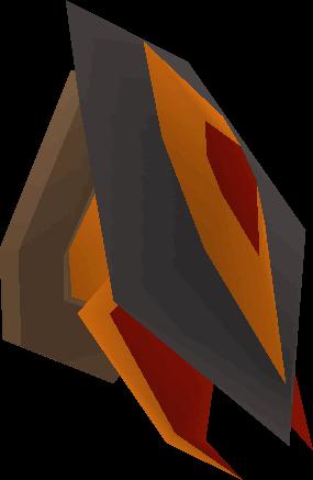 Abyssal demon head (mounted)