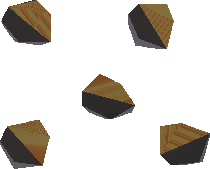 Lava scale shard