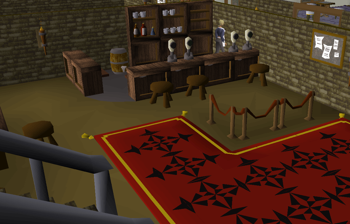 Toad and Chicken (Games Room)