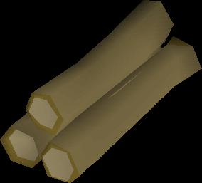Achey tree logs