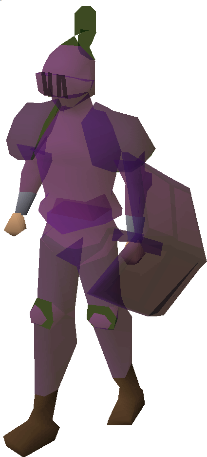 Corrupted armour