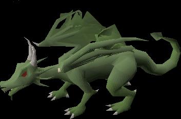 Brutal green dragon
