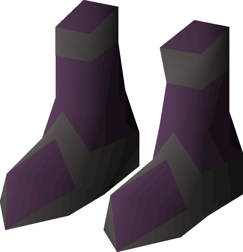 Boots of darkness