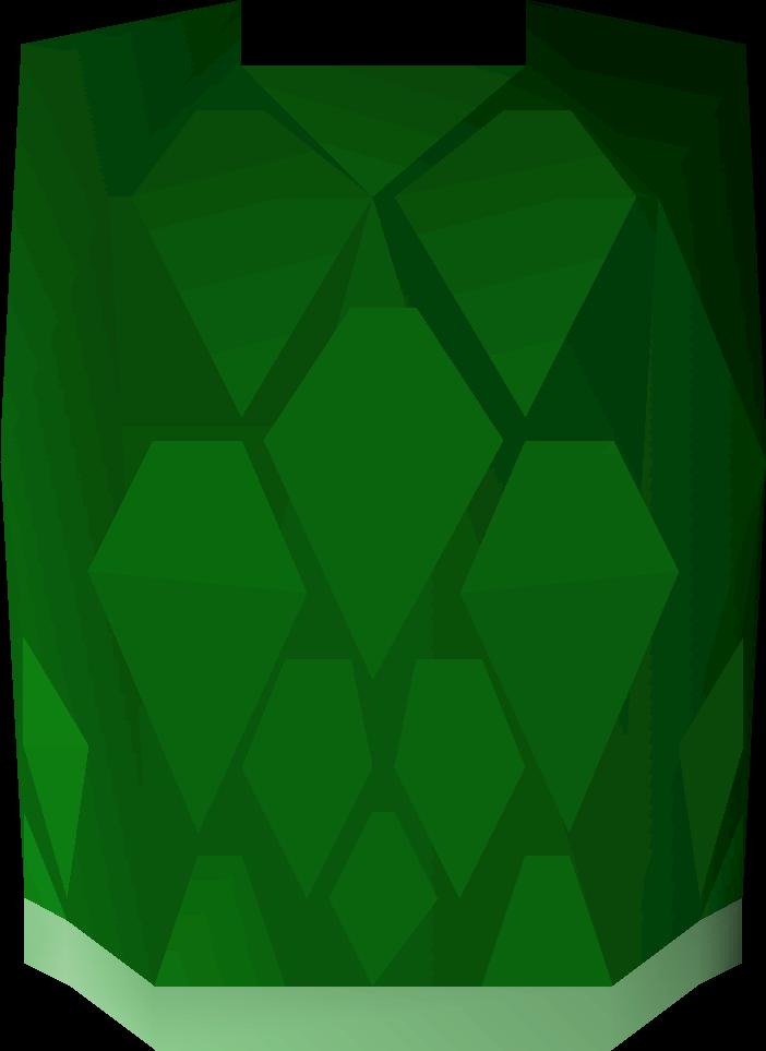 Green d'hide body (t)