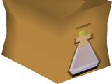 Water-filled vial pack