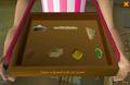 Sandwich lady selection interface