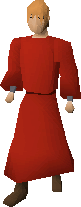 Zamorak monk top
