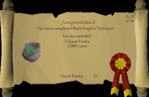 Black Knights' Fortress reward scroll.png
