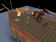 Dragon Slayer II - Wise Old Man and Brundt