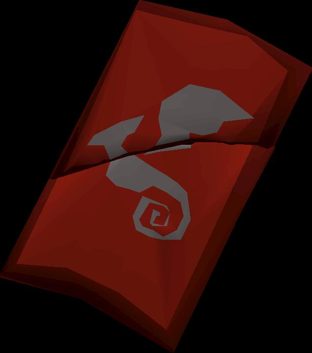 Dragon metal shard