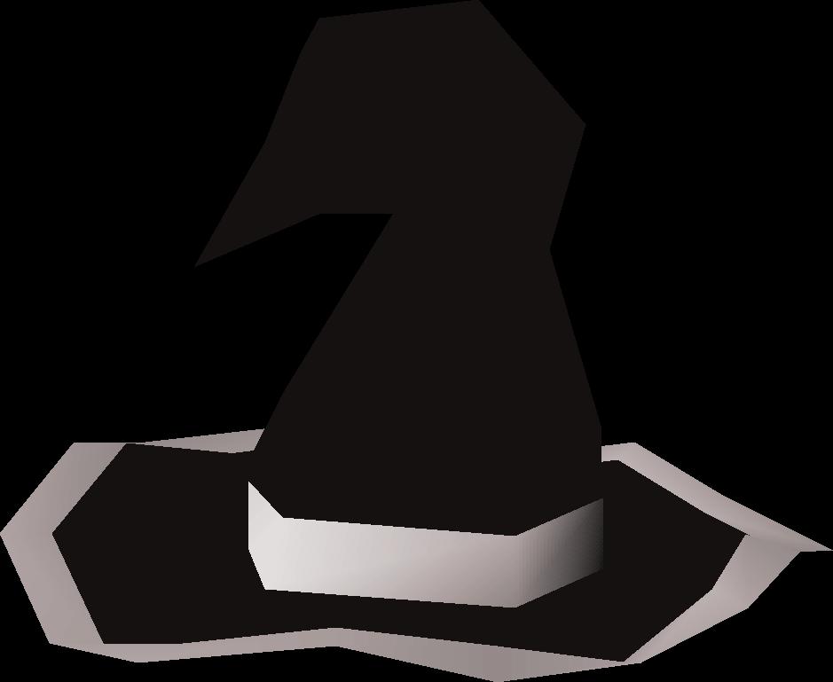 Black wizard hat (t)