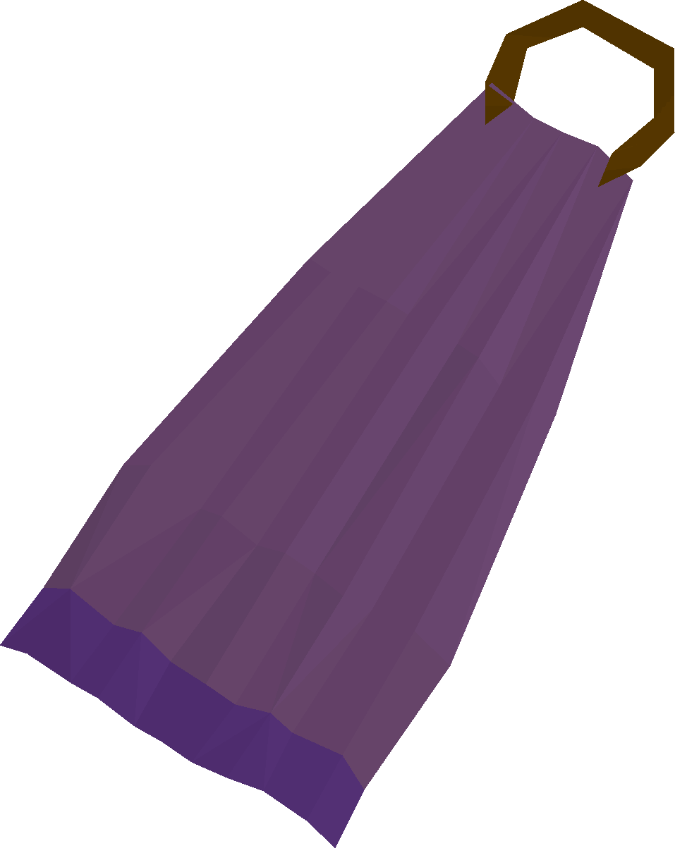 Purple cape