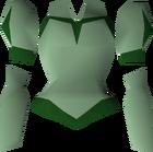 Green elegant blouse detail.png