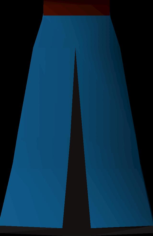 Blue skirt (t)