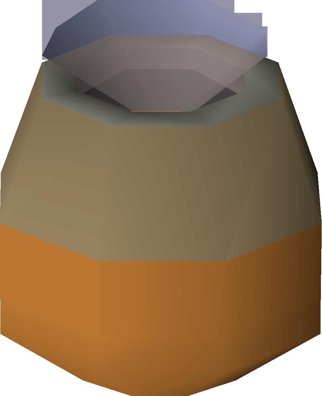 Smouldering pot
