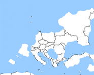 Map of Europe after 2012 Apocalypse