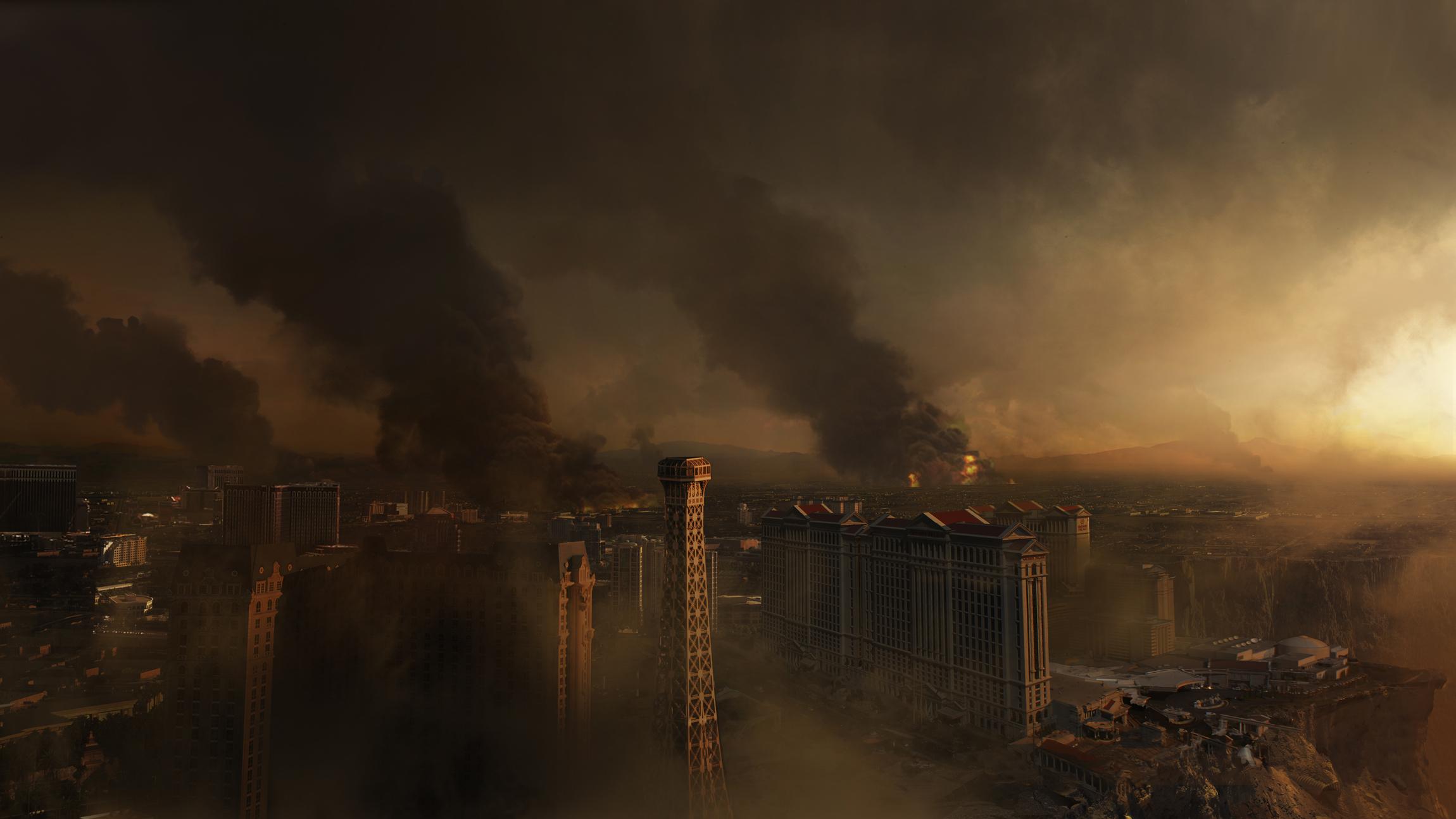 Engulfment of Las Vegas