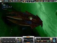 Atlantian capital ship