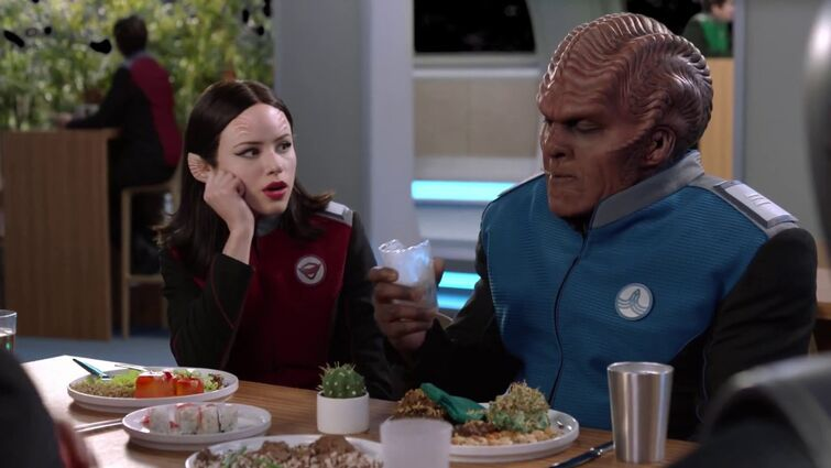 The Orville - Moclan Eat Everything Scene