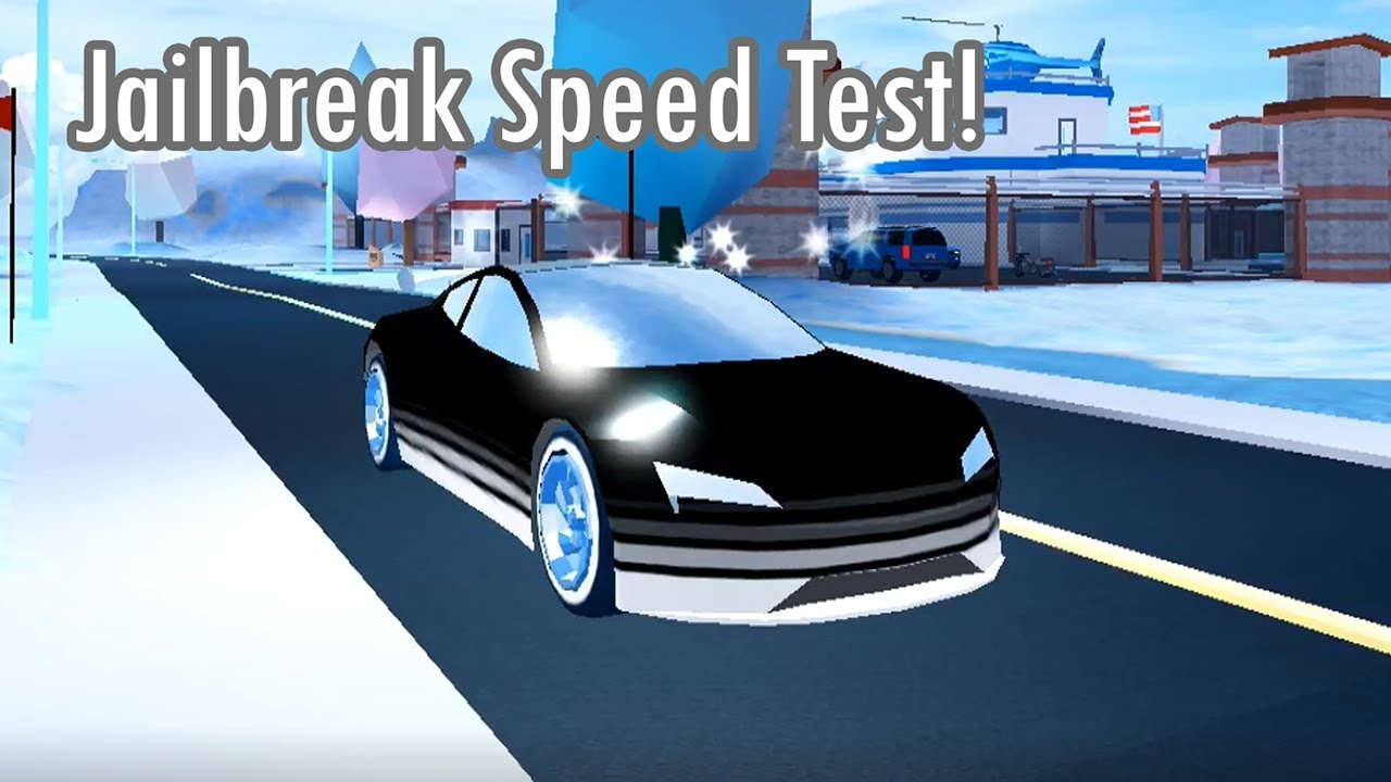 Proof That The Tesla Roadster Is The Fastest Vehicle In Jailbreak