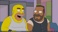 Grizzly Shawn and Barry (The Simpsons)