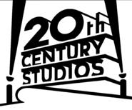 20th century studios logo white black