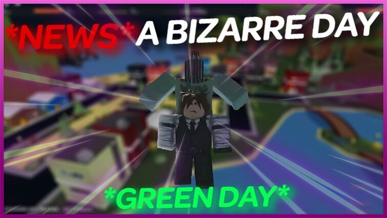 *NEWS* A BIZARRE DAY / GREEN DAY / SP REWORK / SAMURAI REWORK / PVP AREA / NEW DANCE