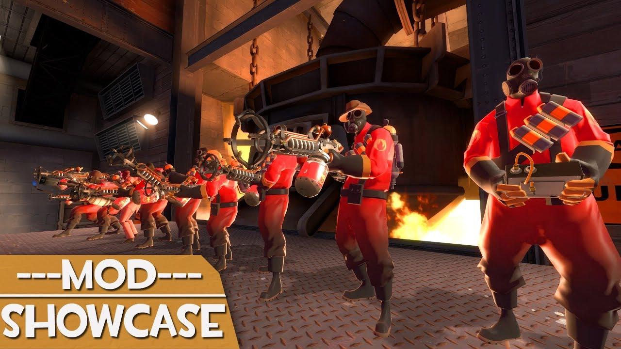 [TF2] Mod Showcase: Pyro Fortress 2