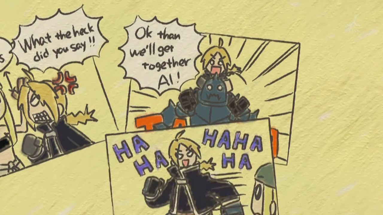Uso...Fullmetal Alchemist : Brotherhood