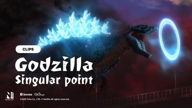Godzilla Terrestris's form   Godzilla Singular Point