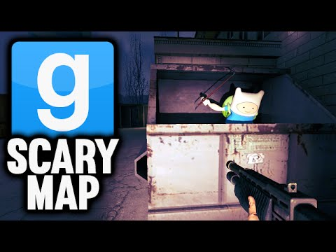 Gmod Scary Map Funny Moments - Jump Scares, Bad Luck Nogla, Sexual Cav